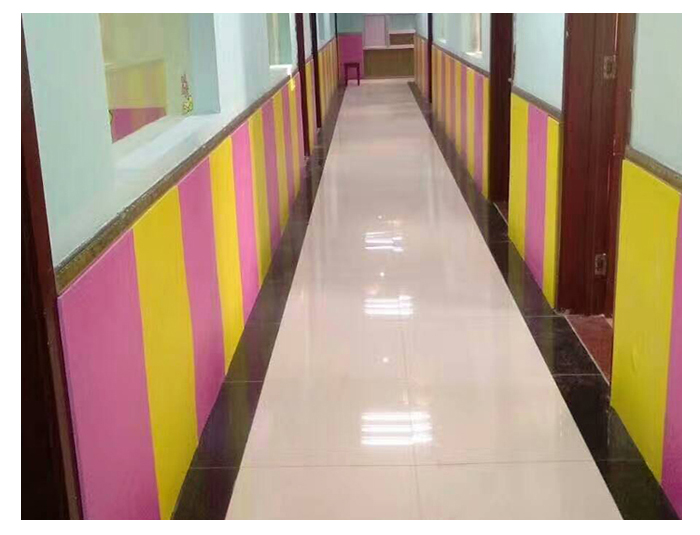 JA-QT01 PVC Pure Color Wall Flooring