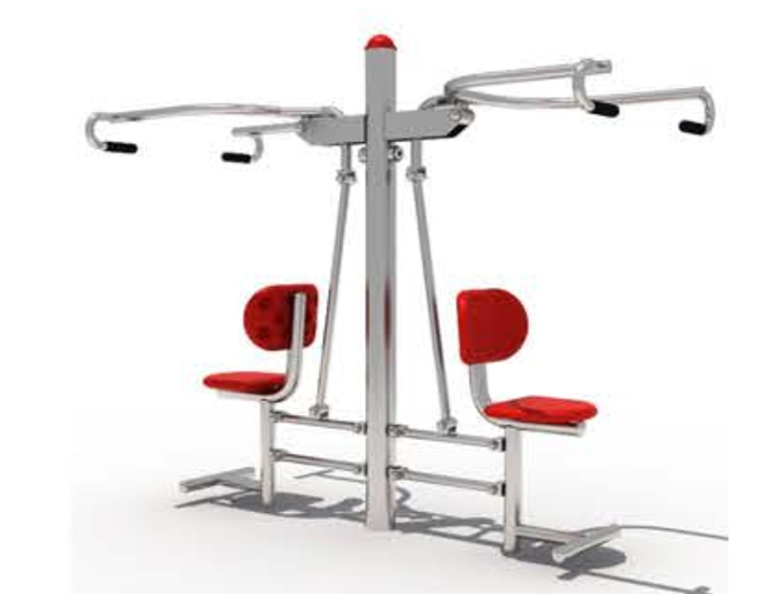 JA-B1802  Sit push machine(double)