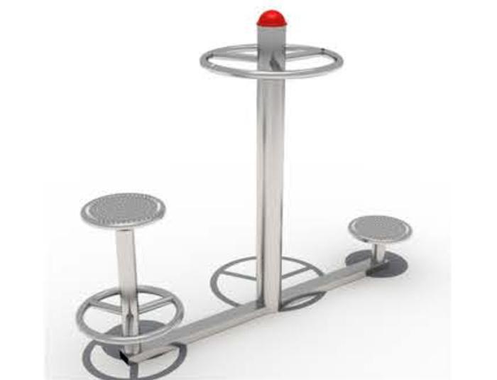 JA-B1803  Sit & stand hip twister equipment