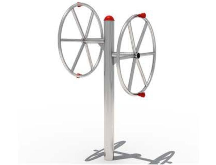 JA-B1807 Double Merry wheel
