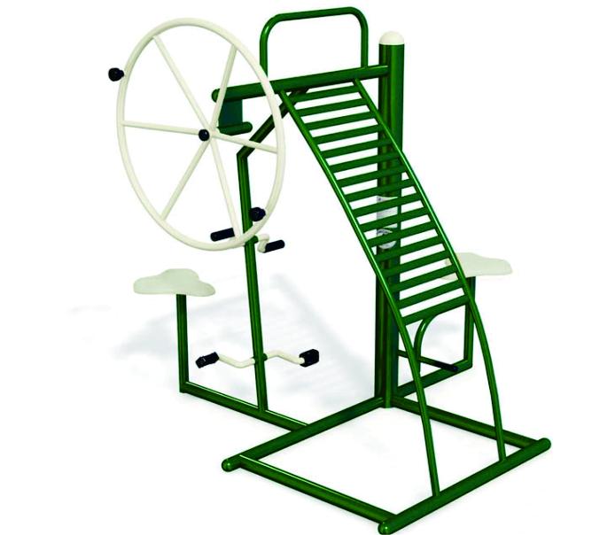 Benefits of outdoor fitness equipment
