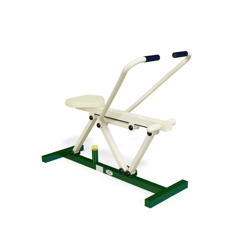 The rowing machine can make the muscles of the whole body shape.