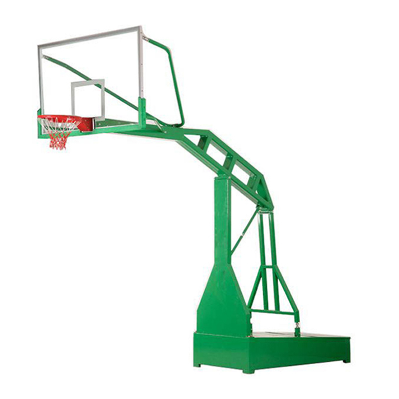 How can mobile basketball frame be maintained to extend the service life?