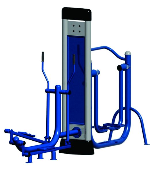What maintenance does the outdoor fitness equipment need to carry out in the community?