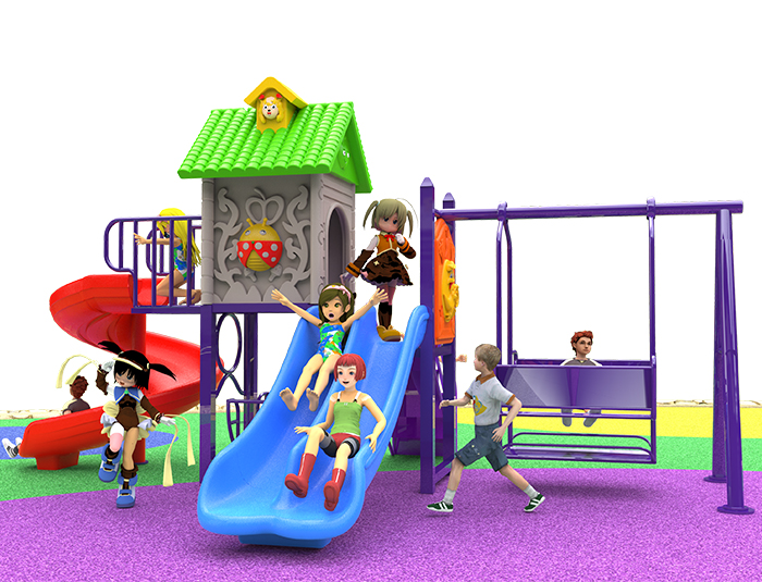 What are the advantages of playing on the park slide? How to choose several kinds of slide?