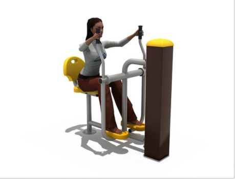 Garden Gym Equipment Goes into More and More Communities