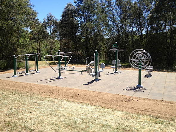 What should you do when outdoor fitness equipment use prevent injuries?