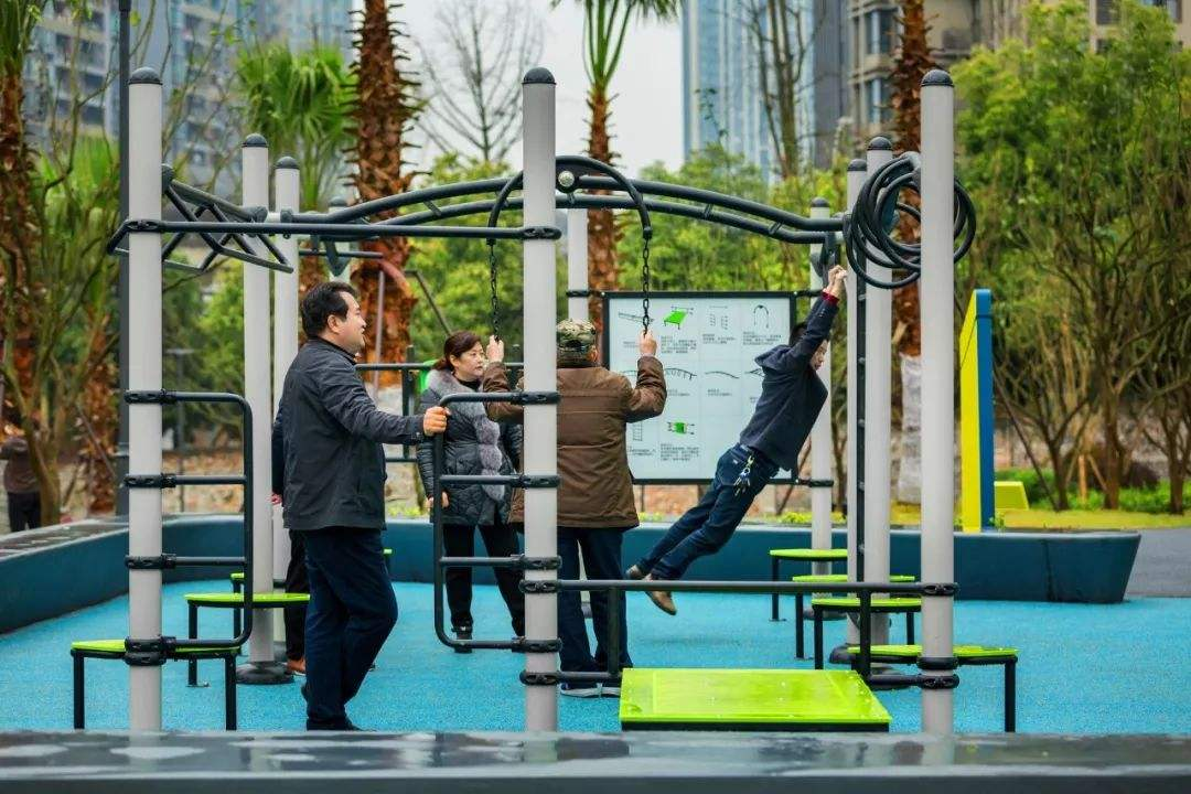 An Effective Way to Maintain Physical Fitness with Outdoor Fitness Equipment