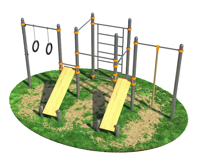 Exercise Function of Several Outdoor Fitness Equipment